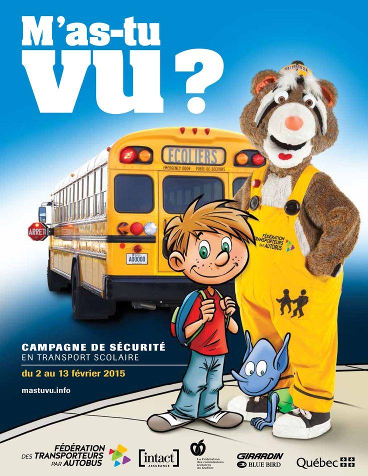 Sécurité en autobus scolaire