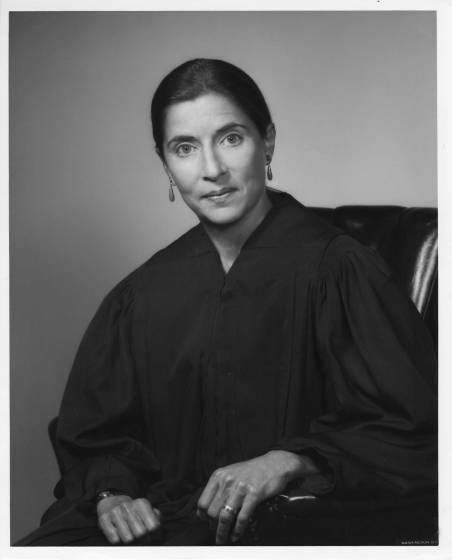 <b>Fall 1980</b> Judge Ruth Bader Ginsburg during her first term as a United States Circuit Judge to the U.S. Court of Appeals for the District of Columbia.