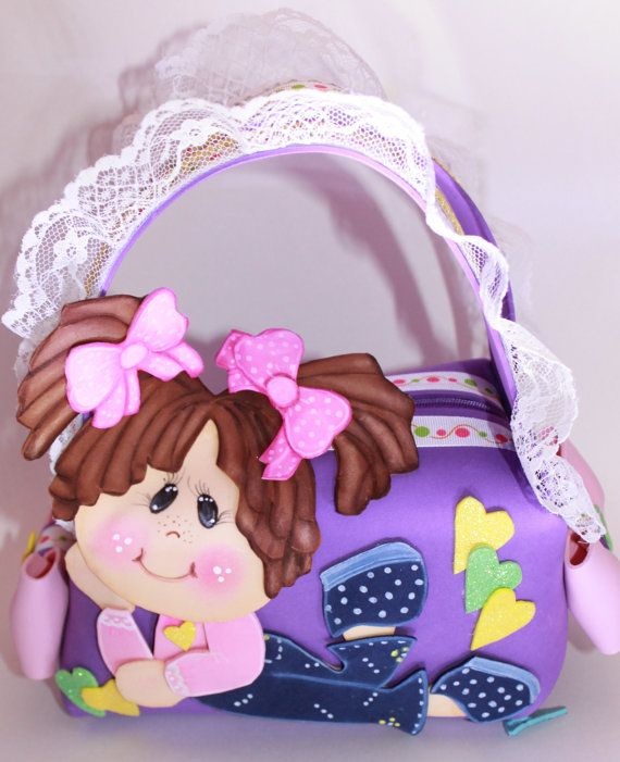 Letty   Little Girl Purse by SweetBellaLuna on Etsy, $14.00