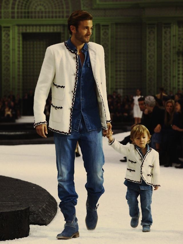 Chanel like father like son