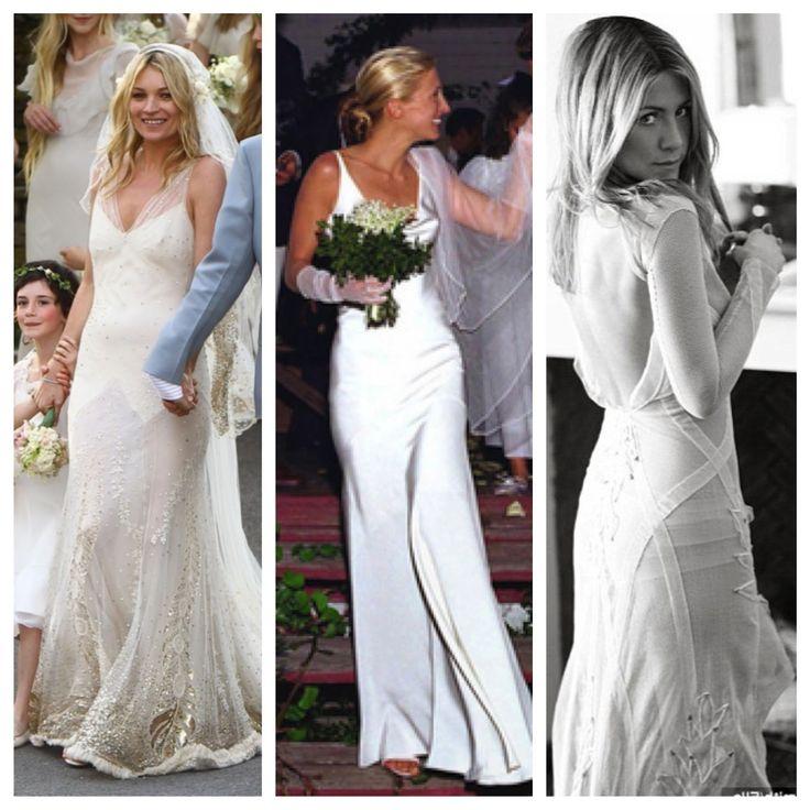 Sheath Wedding Dresses Carolyn Bessette Kennedy Flower