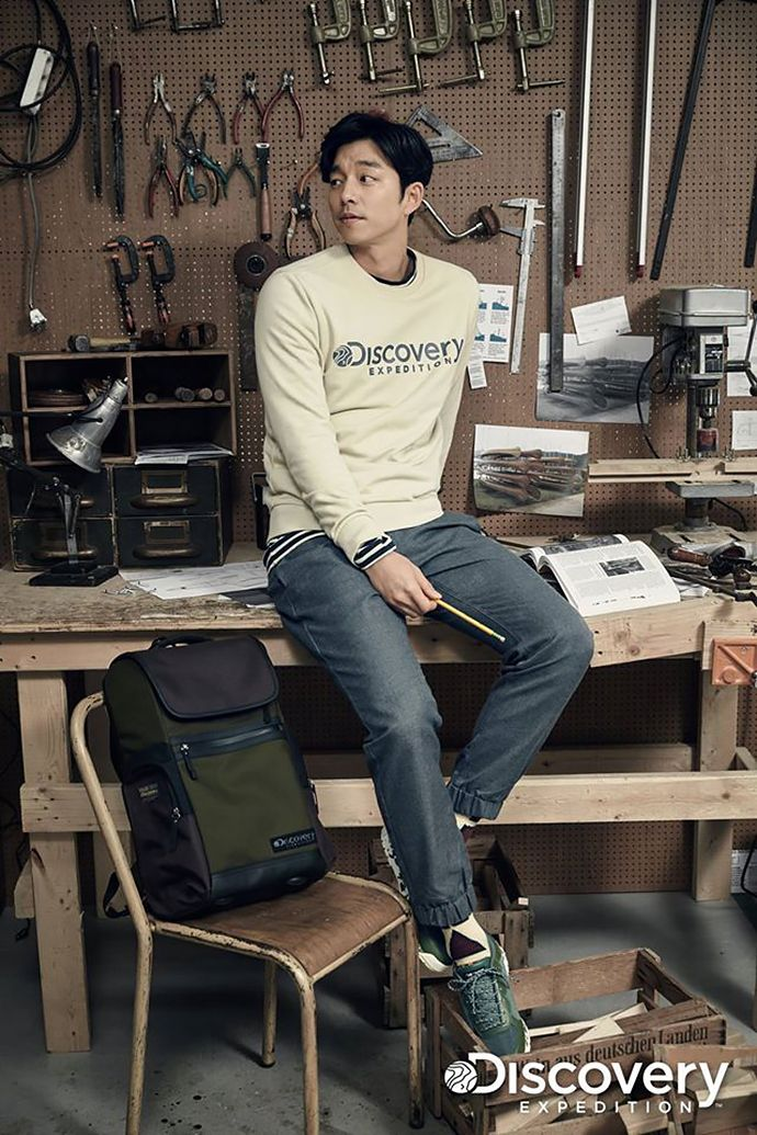Discovery Expedition Pre-Spring 2016 Ad Campaign With Gong Yoo | Couch Kimchi