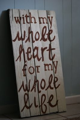 yep...feel this way about my hubby!!!  So lucky and blessed to have this amazing man in my life!!! ;)