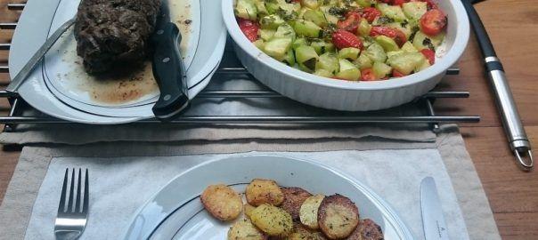 Recept: runderrollade met groentes uit de oven en aardappeltjes van #overkruiden