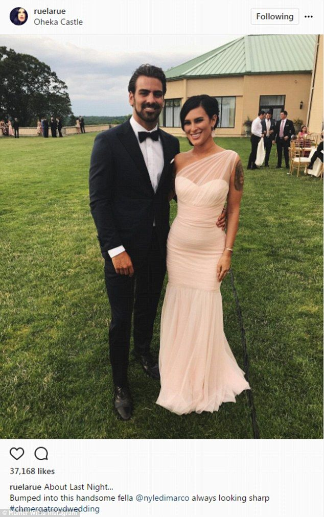 Gorgeous guest: DWTS alum Rumer Willis looked amazing with Nyle DiMarco...