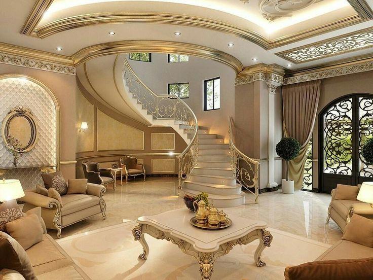 1000 ideas about mansion interior on pinterest hidden for Dubai decoration interieur