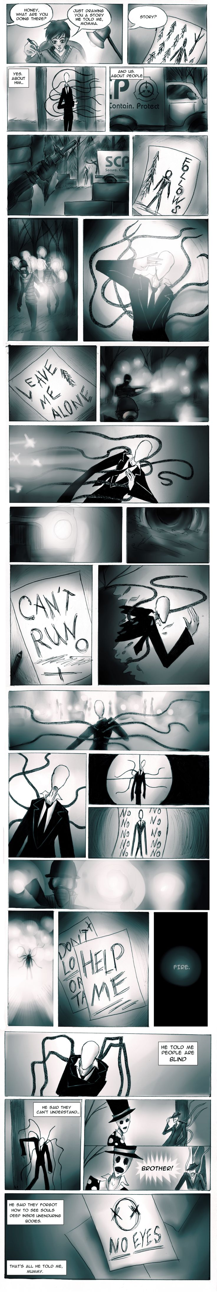 [ HAVE NO EYES ] Another 8 pages story. by Paradoxoid.deviantart.com on @DeviantArt