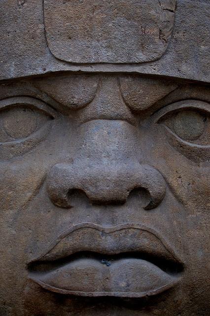 olmec heads | San Lorenzo Olmec head | Flickr - Photo Sharing!