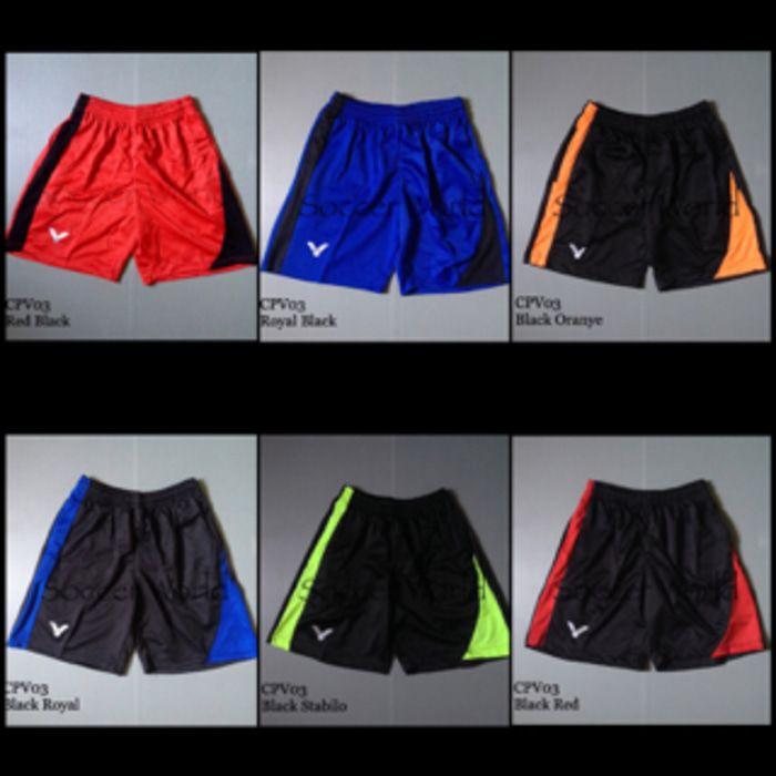Celana Pendek Olahraga Badminton Bulutangkis Victor CPV03 Murah