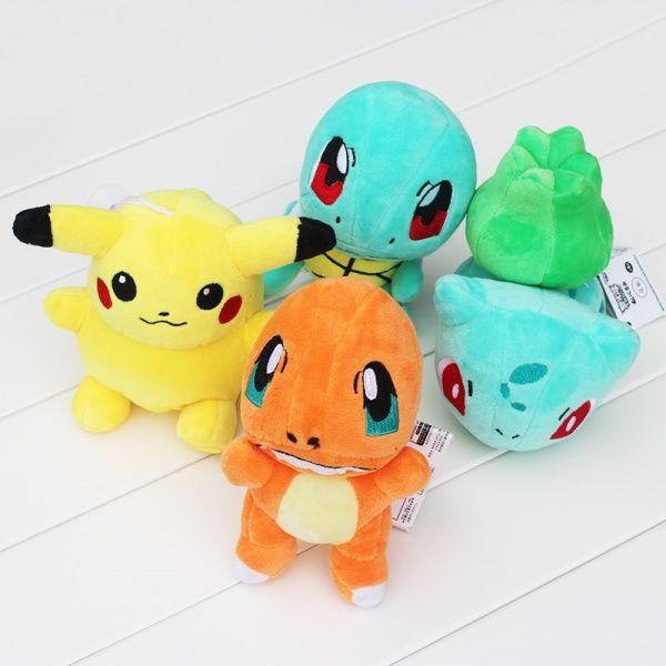 Her får du et sett pokemon bamser med de mest kjente Pokémonene: Pikachu, Bulbasuar, Charmander og Squirtle. Perfekt som gave til de små! Og kun 349,-