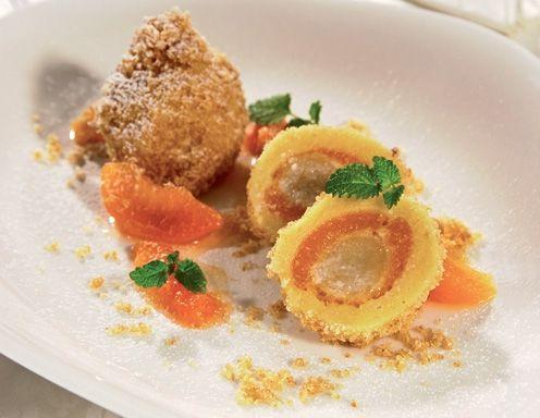 Apricot dumplings from the wachau á la Sacher - Rezept - ichkoche.at