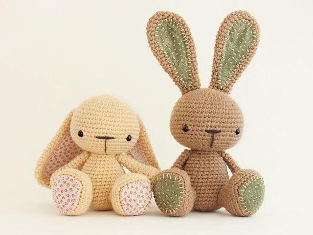Amigurumis Conejos Paso A Paso : Mejores imágenes de animales en patrones amigurumi