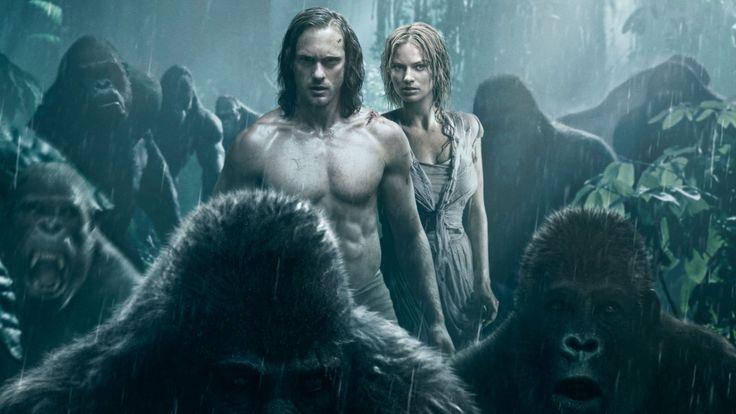 Alexander Skarsgard Tarzan   Alexander Skarsgard Margot Robbie The Legend of Tarzan HD Wallpaper ...
