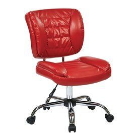Office Star Work Smart St Red Contemporary Task Chair St52050c-U9