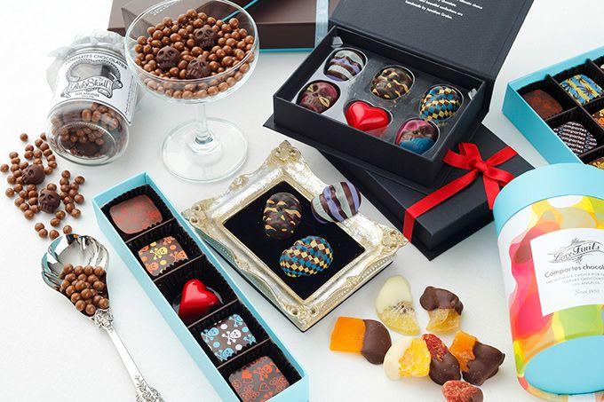 コンパーテス ショコラティエからバレンタインチョコレート登場 - スカルの形のチョコなど
