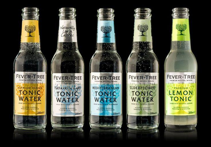 Fever-Tree, Premium Tonic Water, Mixer Drinks, Best Tonic Water, Slimline Tonic, Best Gin & Tonic