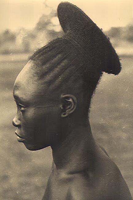 Mangbetu woman; skull elongation | Africa part IV ...