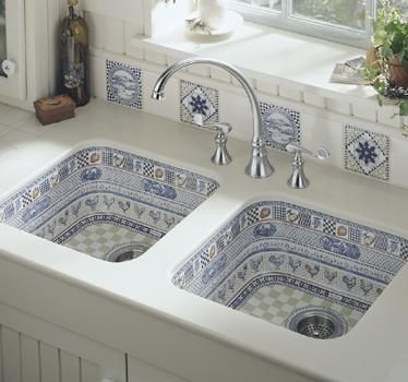 Love: Idea, Kitchens Design, Dreams Kitchens, Cool Sinks, Sinks Design, House, Modern Kitchens, Mosaics Tile, Kitchens Sinks