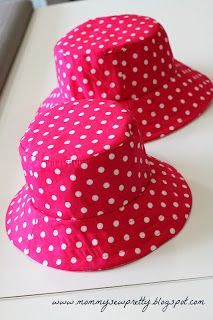 Quick tip on Reversible Bucket Hat - easier way to sew them.