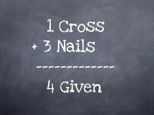 forgivness: Math, Easter, Inspiration, Amenities, Jesus, Truths, Things, Crosses, Nails