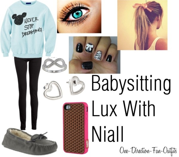 """""""Babysitting Lux with Niall"""" by one-direction-fan-outfits on Polyvore"""