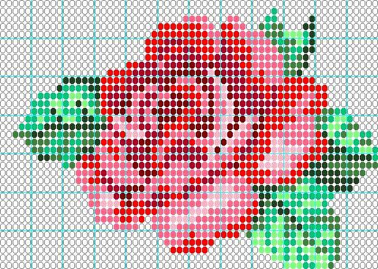 Résultats Google Recherche d'images correspondant à http://www.beaddancing.com/images/patterns/Rose.gif