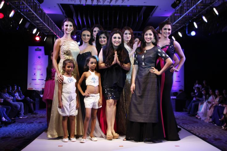 "Designers Archana Kochhar and Farah Sanjana joined hands to support girl child education at the 9th edition of Smile Foundation's charity fashion initiative 'Ramp for Champs' on Sunday. 60 achievers from all walks of life got together on the ramp with children from Smile Foundation, the real ""champs"" of the show. Proceeds from the event went towards the education of girl children, under Smile Foundation's Mission Education programme."