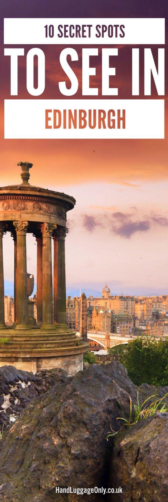 Edinburgh Spots Less Traveled