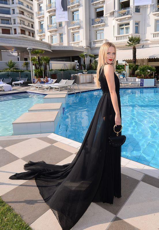 Jessica Mercedes na Festiwalu Filmowym w Cannes