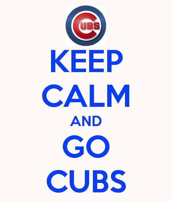 Keep Calm Chicago Cubs