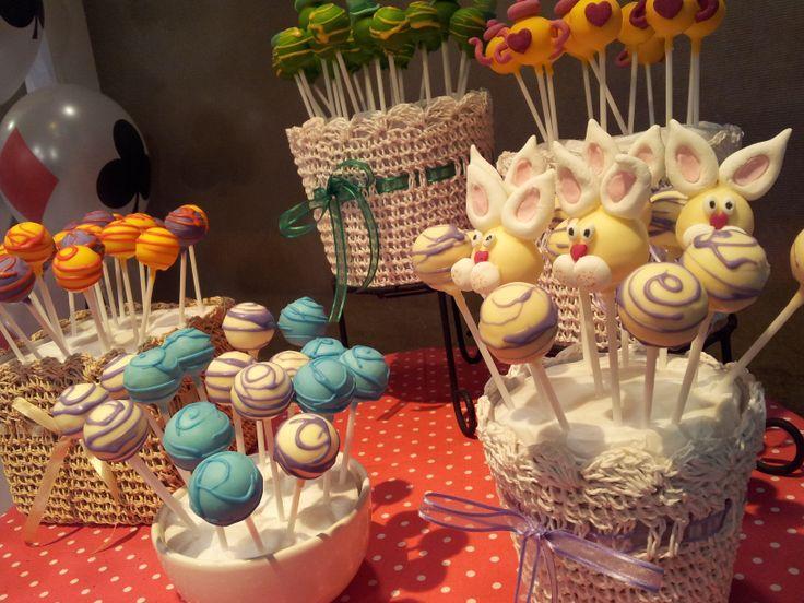Cakepops para el programa DecoTortas