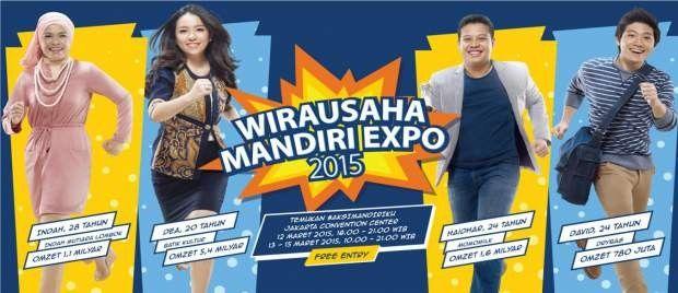 Temukan Ide-ide Bisnis Mahasiswa di Expo Wirausaha Muda Mandiri