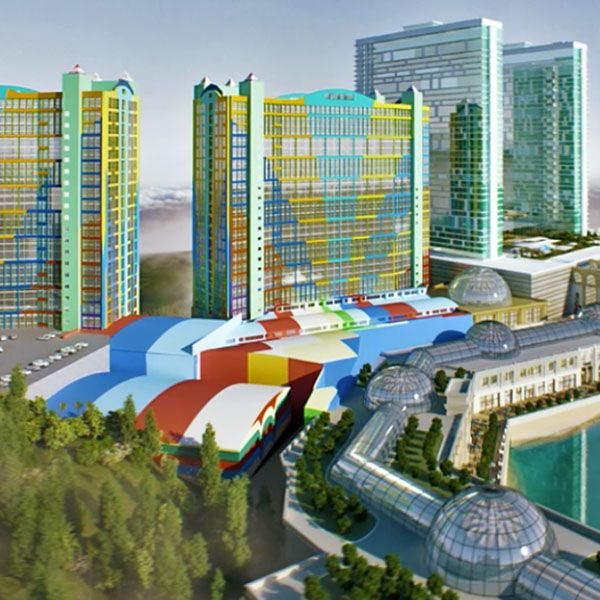 002_The new hotel towers lifting new height for Genting Highlands