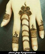 mehndi-design-arabic-simple-and-easy.  More @ http://girlypictorials.com/