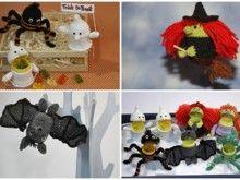 Häkelanleitung Sweepies Spooky-Üs Halloween-Set