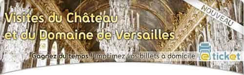Compre os ingressos para Versailles e imprima em casa