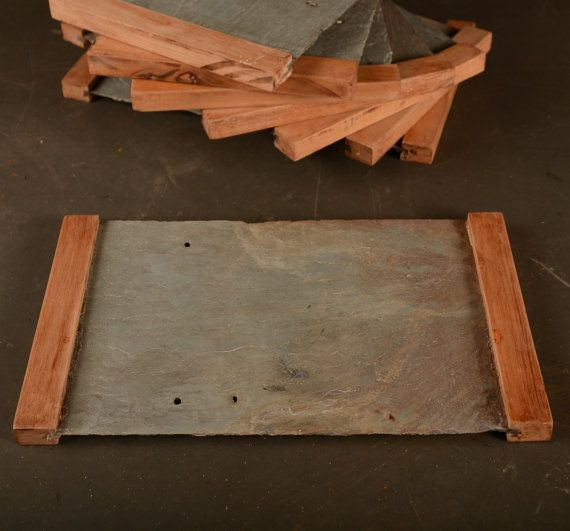 Slate Cheese or Charcuterie Board by phillysalvage on Etsy
