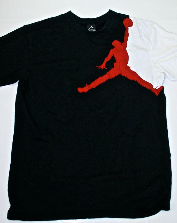 Vintage Michael Jordan Brand Scarface Style Shirt available at VintageMensGoods, $15.00
