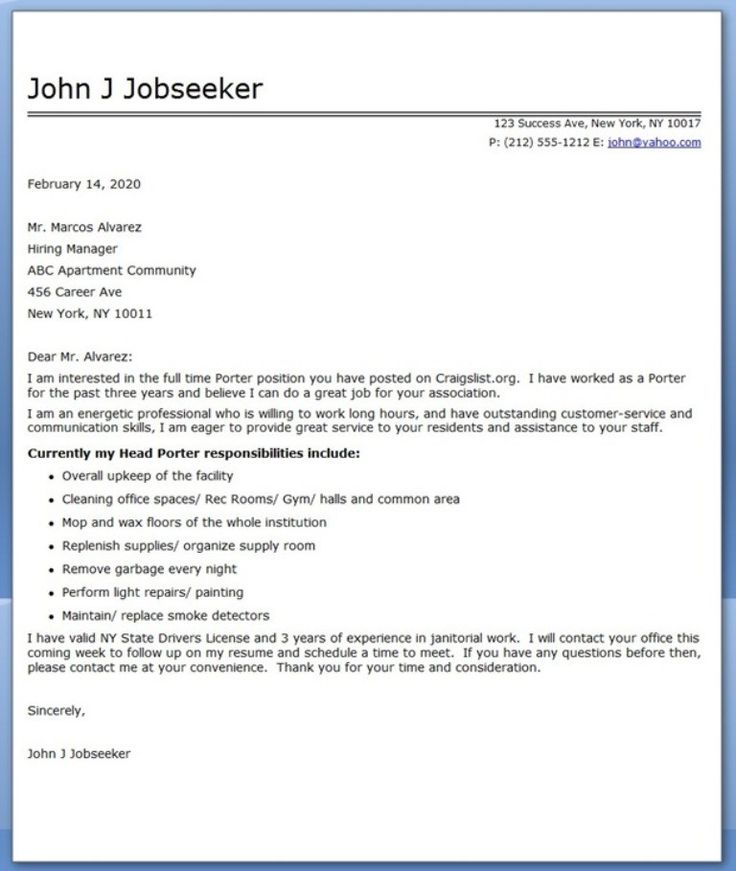 Sample Cover Letter For Resume Administrative