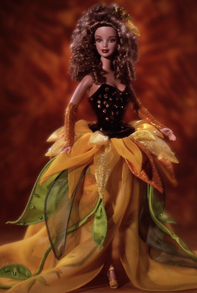 Sunflower Barbie® Doll   Barbie Collector - Limited Edition - - Release Date: 1/1/1998 - - No longer available from Mattel