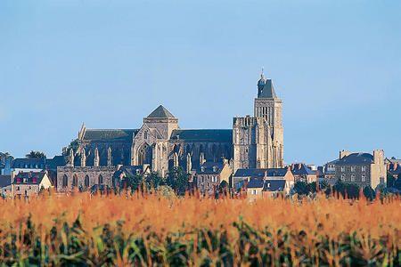 Vue sur la cathédrale de Dol de Bretagne - © BOELLE Yvon