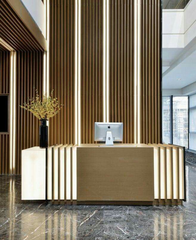 172 best front desk images on pinterest hotel reception for Hotel reception design