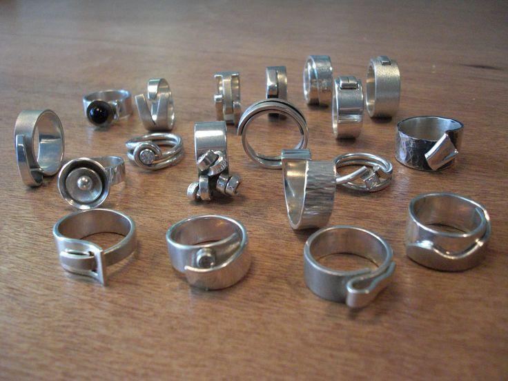 Zilveren fantasiering - Uniek Sieraad - Workshops sieraden maken