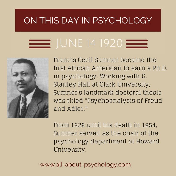 african american psychology Enrique w neblett, jr the concept of race has always played an important role in the psychology of the african american experience.