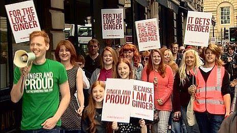 cappelli rossi scotland gingerpride parade