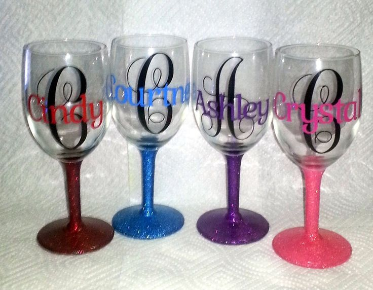 Best 25 decorated wine glasses ideas on pinterest How to make wine glasses sparkle