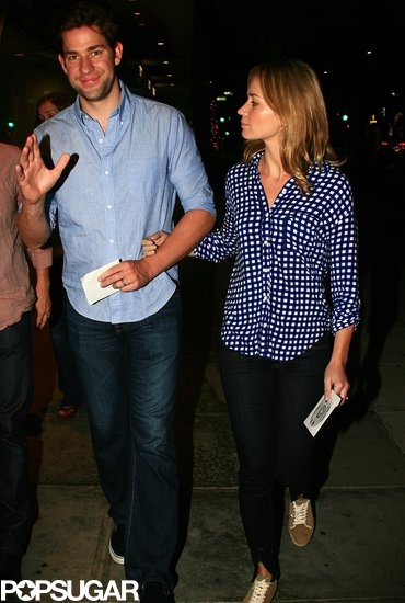 John Krasinski and his wife, Emily Blunt, attended a screening of the finale of 'The Office' on May 16,2013