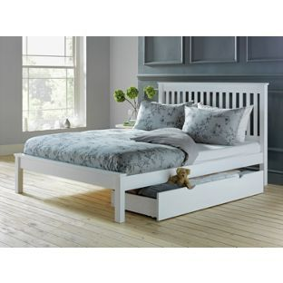 Buy Aspley Double Bed Frame - White at Argos.co.uk, visit Argos.co.uk to shop online for Bed frames