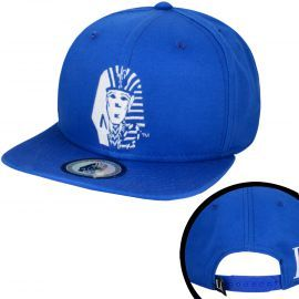 Last Kings Tyga Cris Brown Snapback Cap Royal Blue White