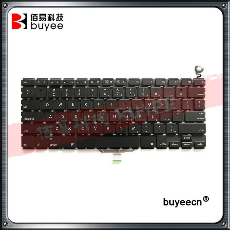 Original Black White 13 Inch A1181 US Keyboard 2008 Year For Macbook Air Laptop A1181 A1185 Layout US Keyboard Replacement